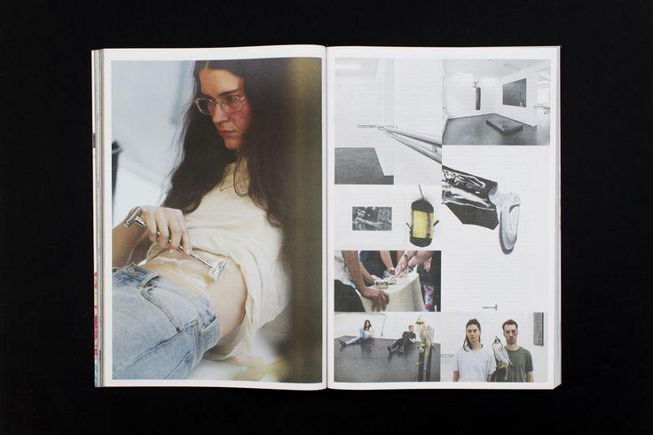 Mousse Magazine 54 ~ #anneimhof #hansulrichobrist #performanceart #performance #moussemagazine #contemporaryart #art #magazine