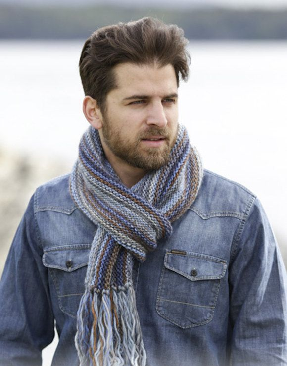 Knit scarf,knitted scarf for men,mens knit scarf,knit mens accessory,wool scarf..Made to order by VaniasCreations on Etsy