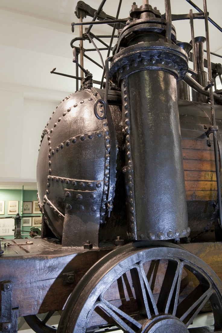 'Puffing Billy' locomotive 1813-1814