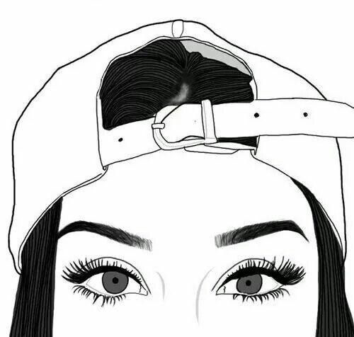 Resultado de imagen para imagenes tumblr chica dibujo