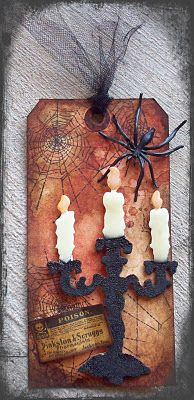 Creative Paper Arts at Everything Scrapbook & Stamps: Cool Tag Alert using Tim Holtz Sizzix die