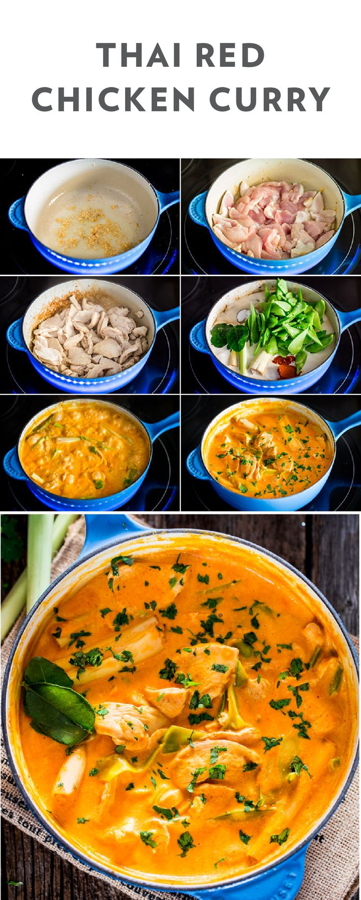 Best 25+ Red curry chicken ideas on Pinterest | Thai red ...