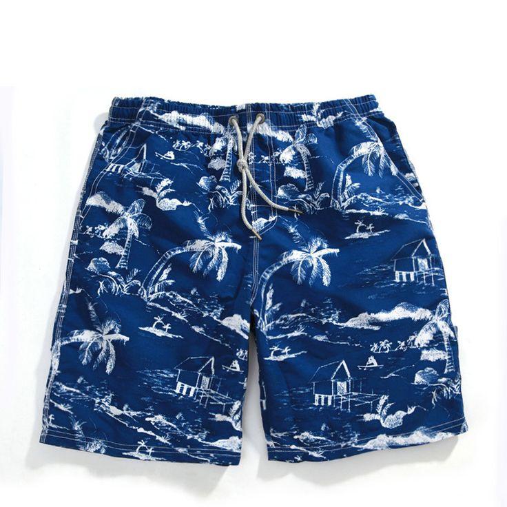 Men Swimwear Men's Beach Shorts Quick Dry Swimming Shorts Brand New 2016 Board Surf Shorts