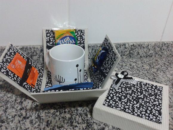 Caixa de Chá Cartonagem