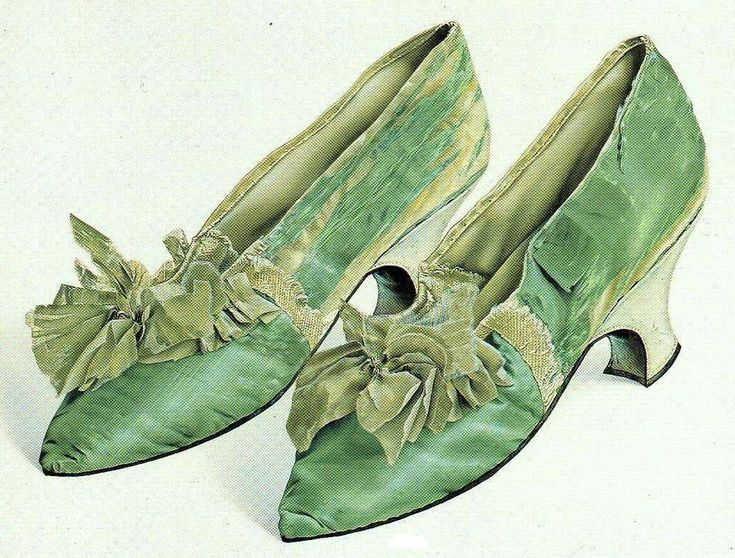 Image detail for -It's About Time: Delightful Distractions - 18th Century Shoes