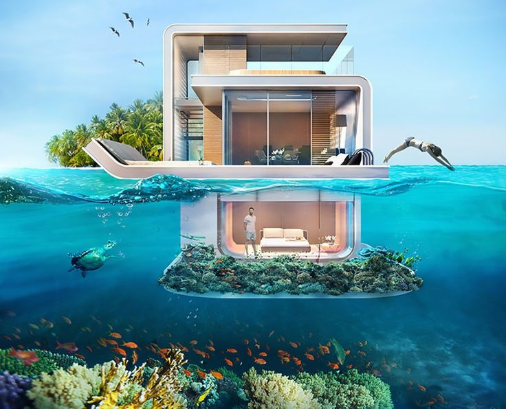 Breathtaking underwater villas let you sleep with the fishes in Dubai | Inhabitat - Green Design, Innovation, Architecture, Green Building