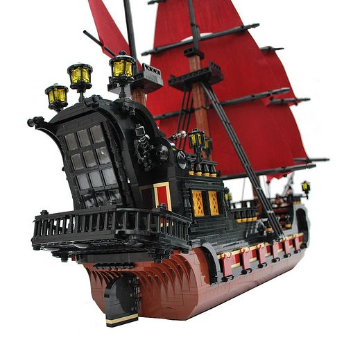 LEGO Pirate Ship by Franko Komljenovic