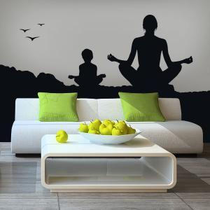 Vinilos Siluetas Yoga