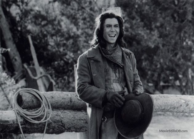 Young Guns publicity still of Lou Diamond Phillips