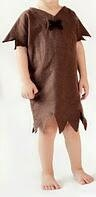 Barney Rubble Inspired Costume from cartoon Flintstones - halloween  - Baby child- convo for adult - fred, pebbles, wilma,  family too. $29.99, via Etsy.