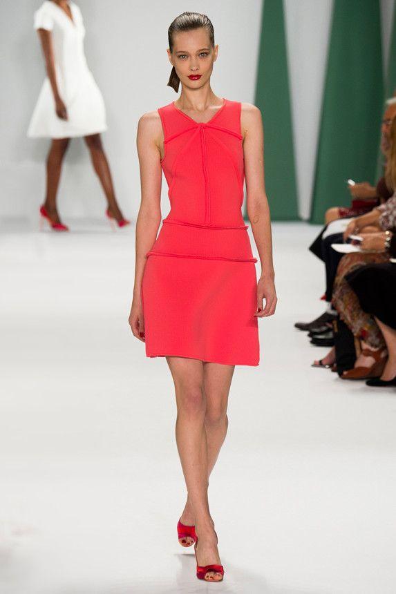 Love the color.... Carolina Herrera Spring 2015 RTW – Runway – Vogue