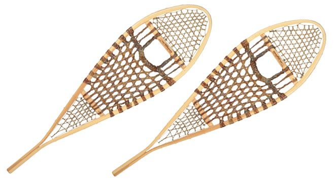 Traditional Huron Snowshoes - The Canadian Outdoor Equipment Co.