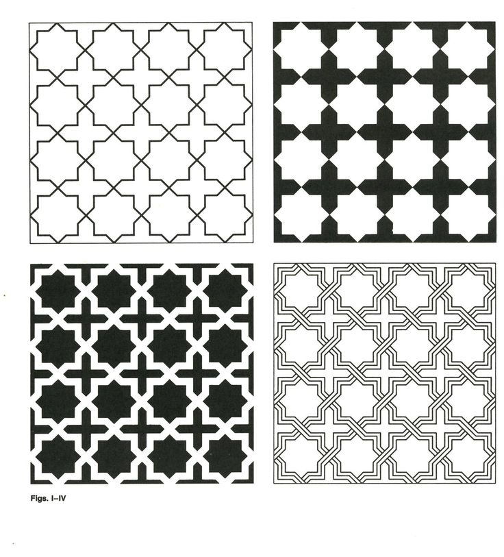 pattern | GP-B 001 | Geometric Patterns & Borders | Pattern in Islamic Art