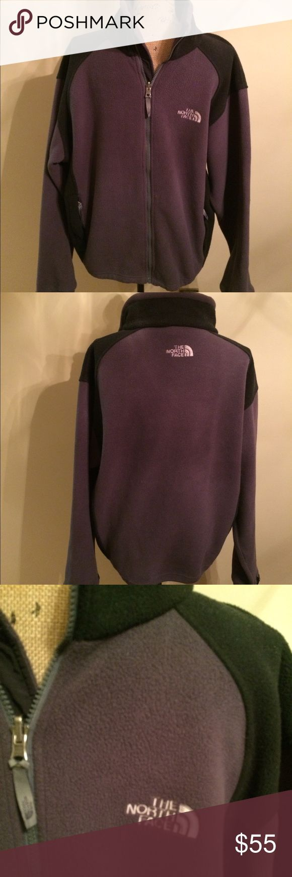 Mens North Face Jacket grey& black 🎉 North Face 🎉 Size Medium 🎉Gently used 🎉 Can be zipped into coat 🎉 Please ask for additional pictures, measurements, or ask questions before purchase. 🎉 No trades or other apps 🎉 Ships next business day, unless noted in my closet  🎉 Bundle for discount North Face Jackets & Coats