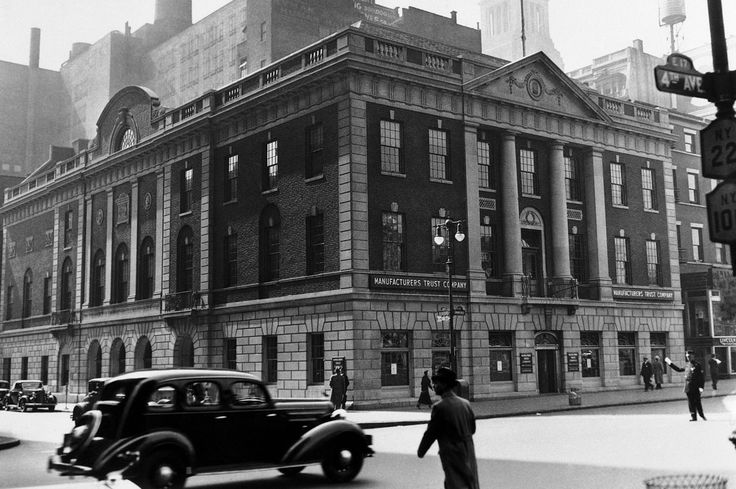 NPR Story on the book Machine Made, which casts Tammany in a more positive light. Seen here in 1935, the building that housed Manhattan's Democratic Party, known as Tammany Hall, still stands today.