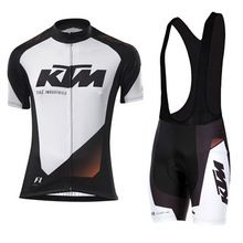 KTM Team Breathable Cycling Jersey Kits Summer Mtb Cycling Clothing Bicycle Short Maillot Ciclismo Sportwear Bike Clothes(China (Mainland))