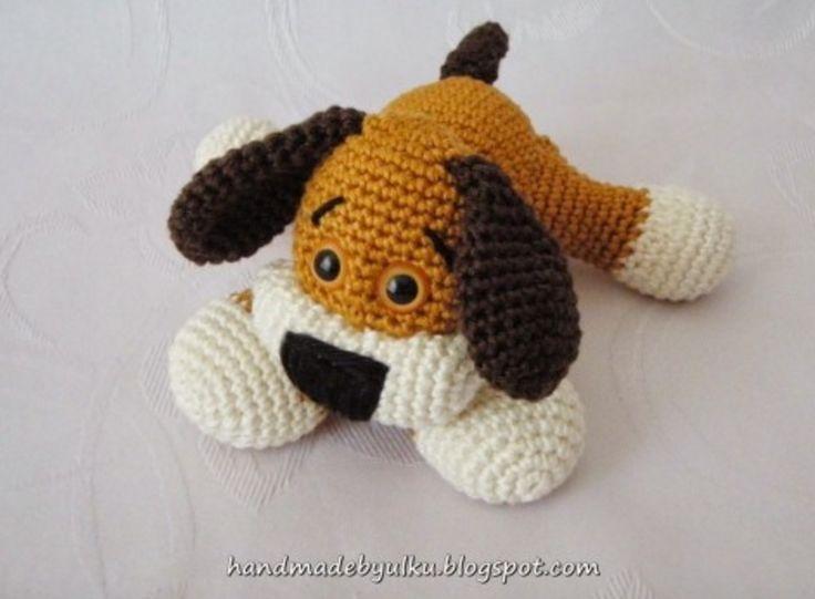 Crochet Puppy Amigurumi Free Pattern