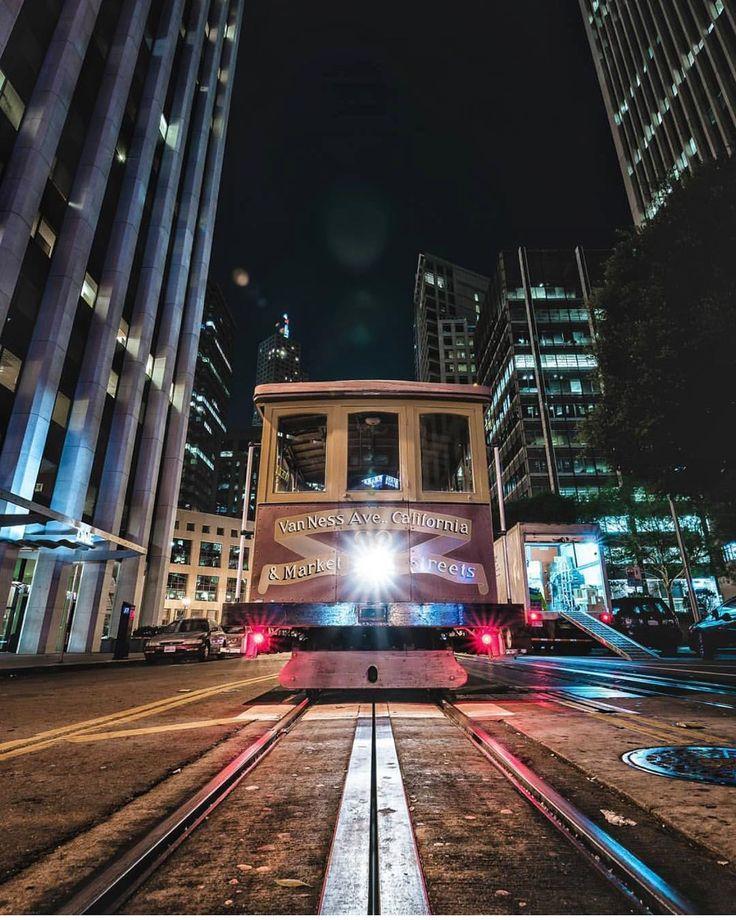 San Francisco Cablecars by @ai_visuals #sanfrancisco #sf