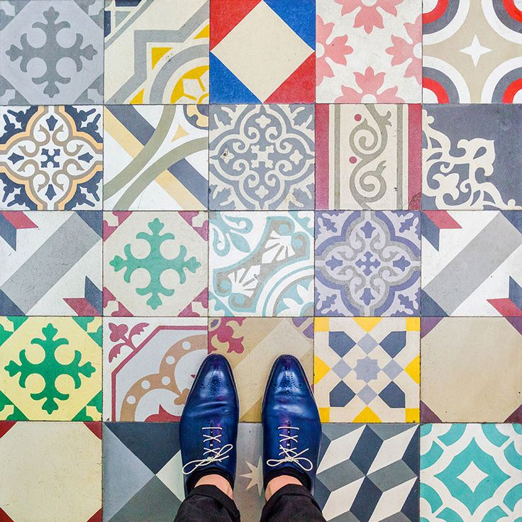Posted on Urbello FLOORS OF BARCELONA Barcelona floors: Sebastian Erras uncovers the city's vibrant culture from the ground up #history #Repost