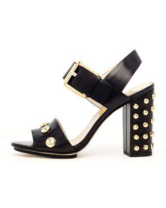 Linden Bubble-Stud Sandal  by MICHAEL Michael Kors at Neiman Marcus.