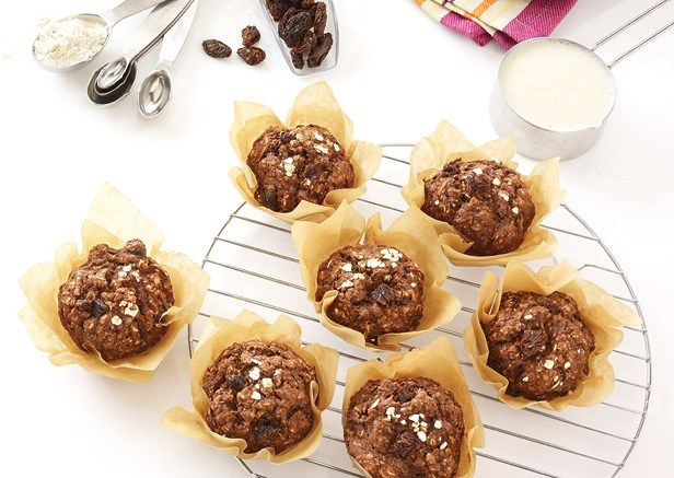 Power-Packed Chocolate Muffins