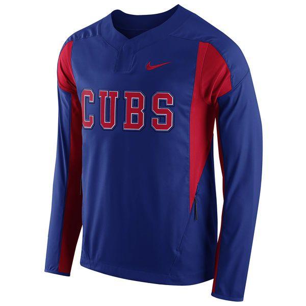 Chicago Cubs Nike Long Sleeve Windbreaker Jacket - Royal - $56.99