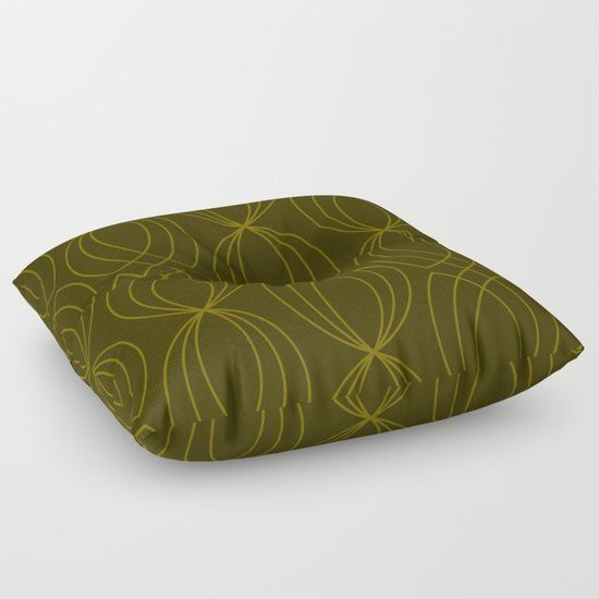 #floorpillow #kale #crossgreen #linesart #green  #grapicdesign  #geometric #pattern #designerpillow #piaschneider #society6 #homedecor. Cross Green and Kale Graphic Design. © 7-2017  by Pia Schneider | atelier COLOUR-VISION