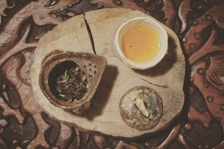 Some sheng puerh to warm the winter at the door