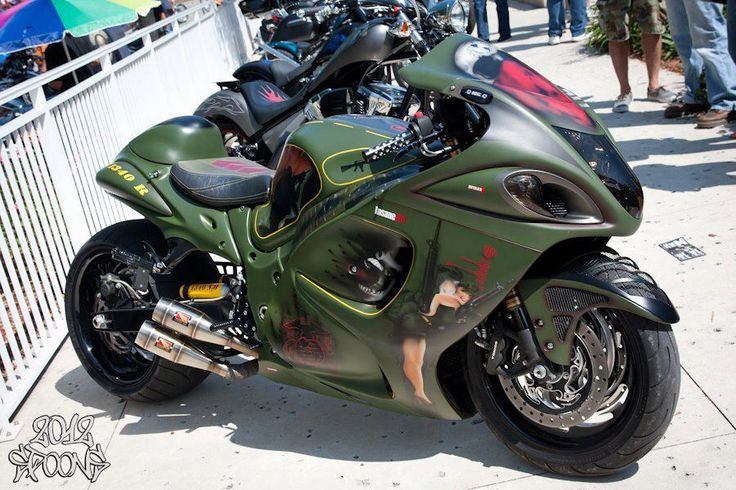 PIPES!!!  Love this bike. Hayabusa to end all wars.