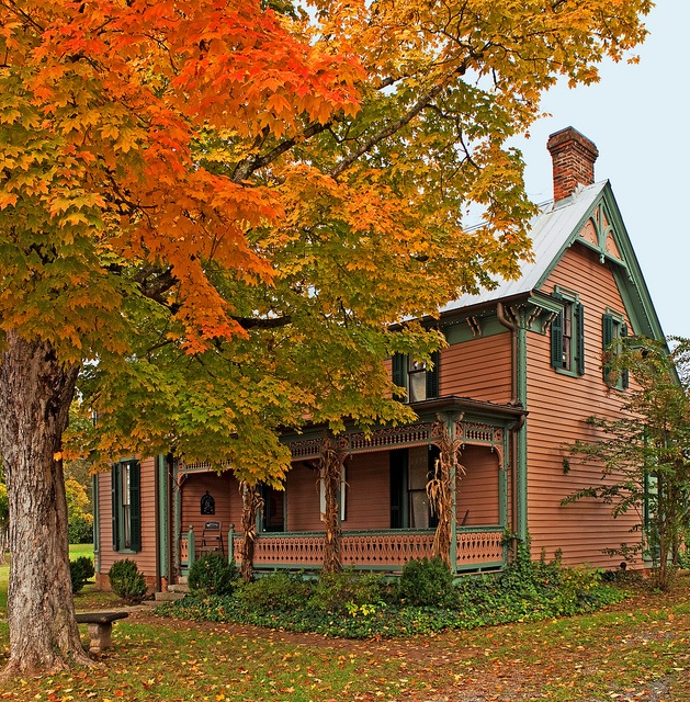 17 best autumn houses images on pinterest autumn fall
