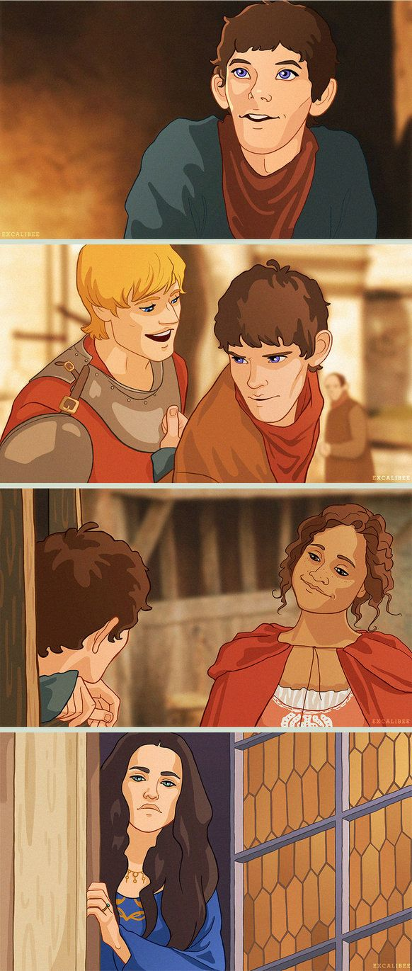 Merlin: The Animated Series by achelseabee on deviantART - soooo I need an animated Merlin revival. Or any Merlin revival. *Uncontrollable sobbing commences*
