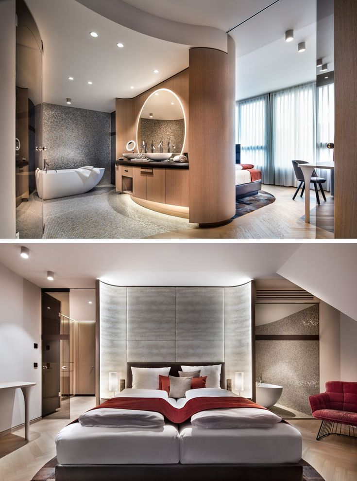 Take A Look Inside The Newly Completed Hotel Neues Tor In Germany Modern Hotel Room Hotel Room Interior Hotel Room Design