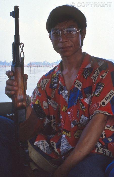 On Guard - Ang Nam Ngum Reservoir
