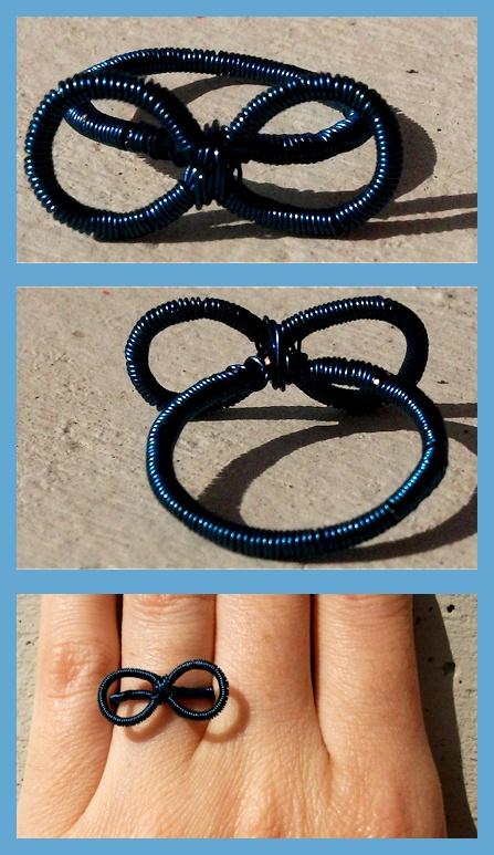 Self-made ∞ ring