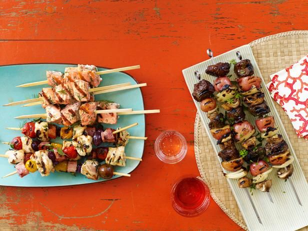 Recipe of the Day: 50 Kebab Recipes   From chicken and beef to seafood and fresh vegetables, Food Network Magazine rounded up dozens of ways to take your kebab game to the next level.Network Magazines, Kabobs Recipe, Healthy Grilled, 50 Kebabs, Kebabs Recipe, The Food Network, Cooking, Summer Dinner, Grilled Recipe