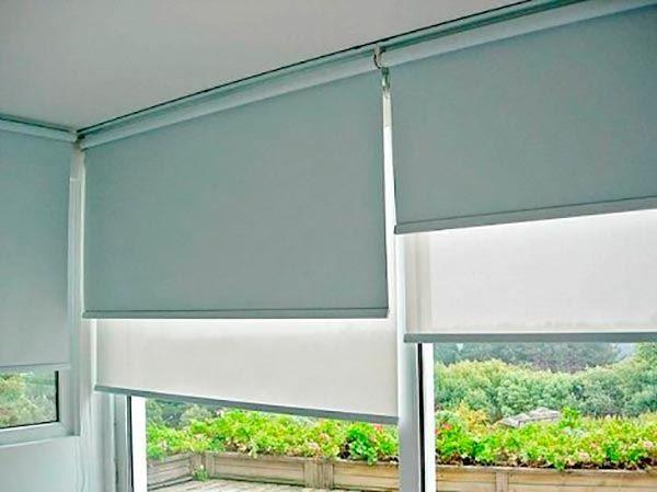 cortinas para quarto rolô