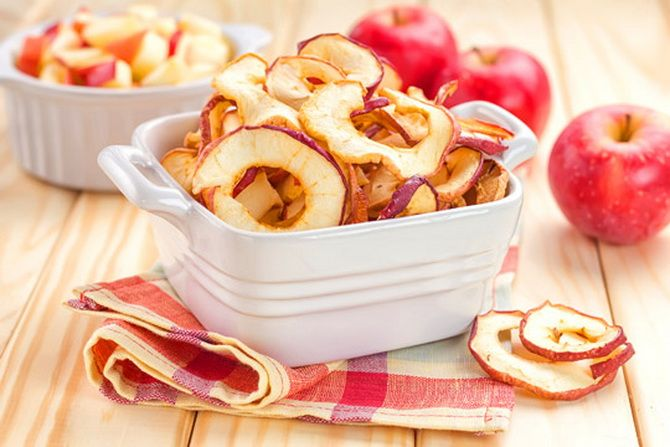 Эскулап: Здоровье со вкусом: чем полезны сушеные яблоки