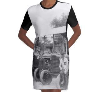 """""""Riders"""" Graphic T-Shirt Dress by Fluxionist on Redbubble"""