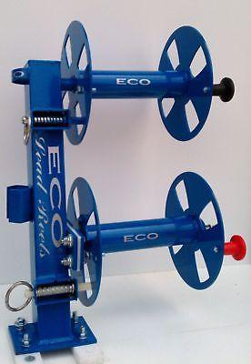 """10"""" Blue Heavy-Duty Double Welding Cable Lead Reel(match your miller welder)"""