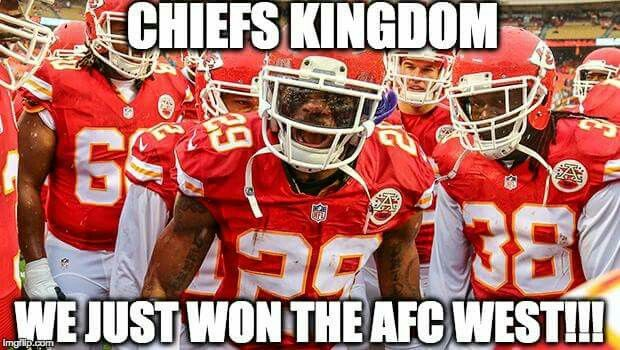 Chiefs baby!