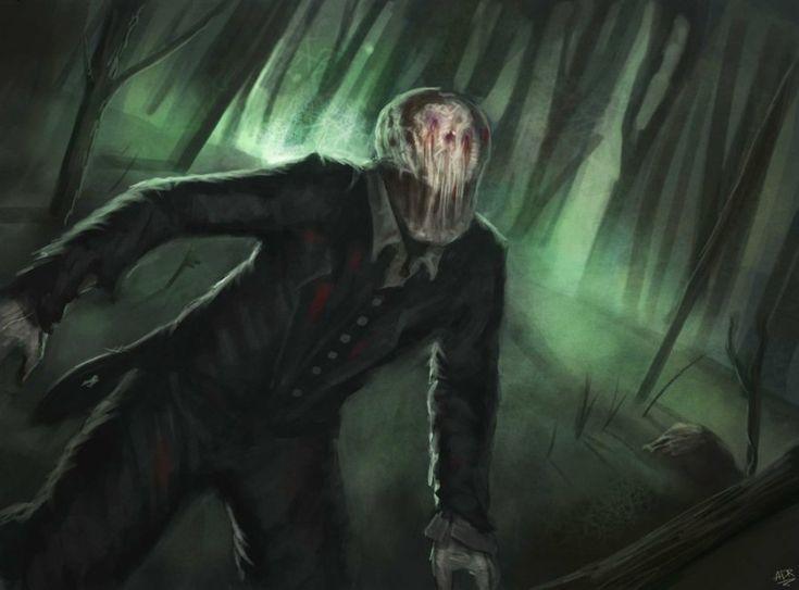 Слэндермэн и его новые жертвы