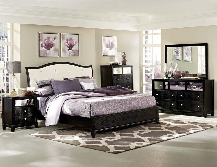 Jacqueline Queen 5pc Floor Model Bedroom Set | Bedroom Group | Dallas TX Furniture
