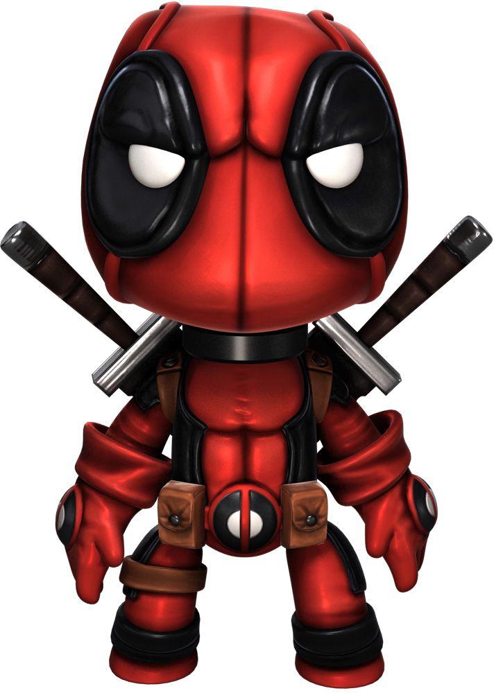Deadpool costume for Little Big Planet