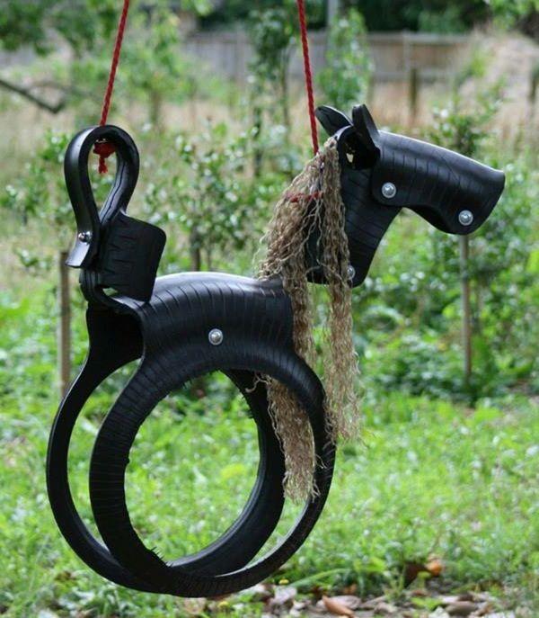 Un pneu et hop! une balançoire :) http://www.humanosphere.info/2016/02/un-pneu-et-hop-une-balancoire/
