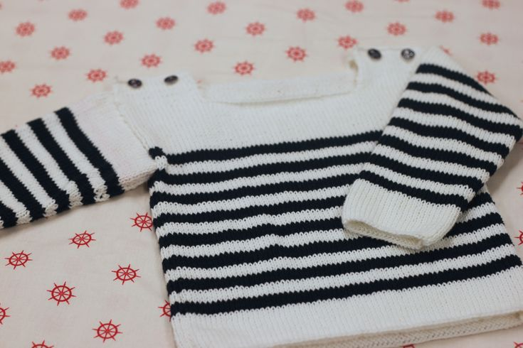 modele tricot pull marin gratuit