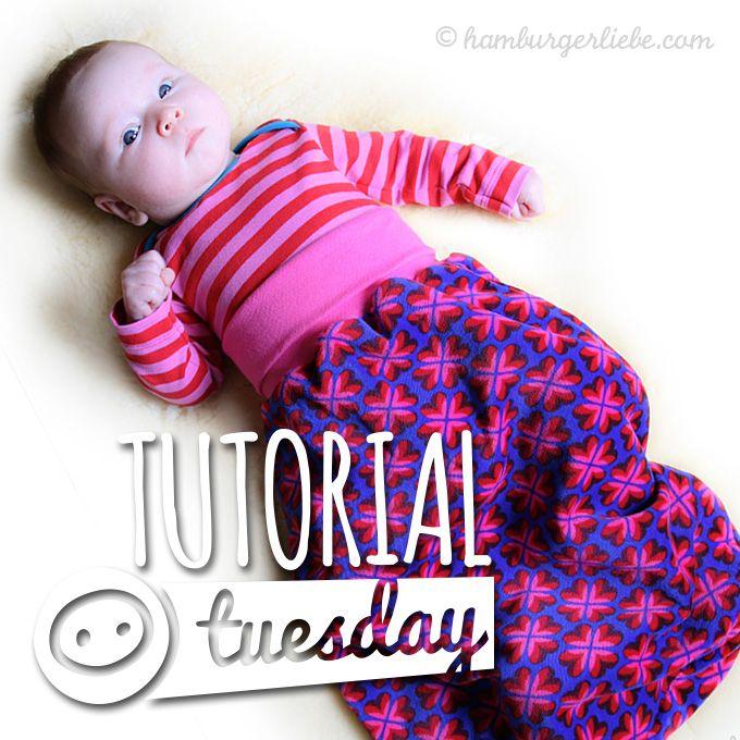 Tutorial Tuesday: Kleine Geschenke für sehr kleine Leute – heute: der Pucksack