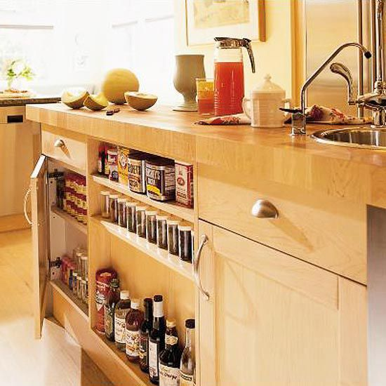 Shallow Open Pantry Shelves In Kitchen: 37 Best Kitchen Islands Images On Pinterest