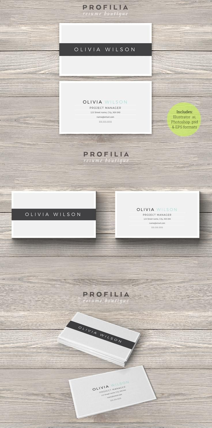 62 Best Business Card Images On Pinterest Behance Gallery And