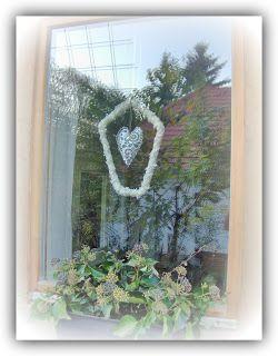 Aranyalma: Karácsonyi ablakdísz  Christmas decoration DIY - Christmas window decoration