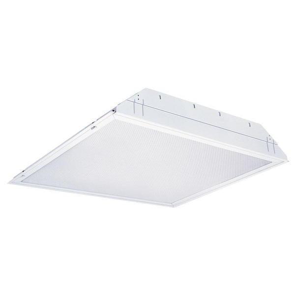 Texas Fluorescents - 2X2 - 3-Light T8 LED Troffer - 45 Watt - 4000K - 5,100 Lumens